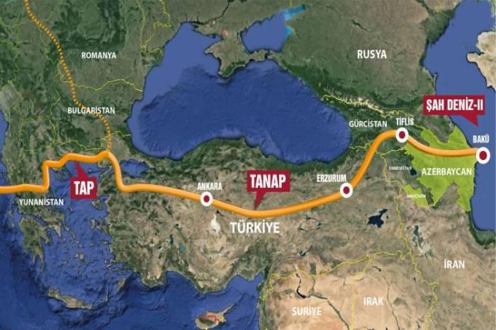 La SAF «Corridor gazier Sud» et la BERD ont signé un accord sur l'allocation de crédit au projet TANAP