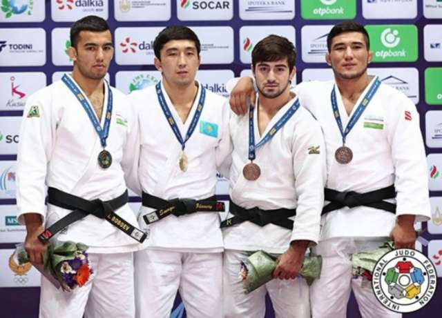 Azerbaijan`s judo fighters win two more medals at Tashkent Grand Prix 2017