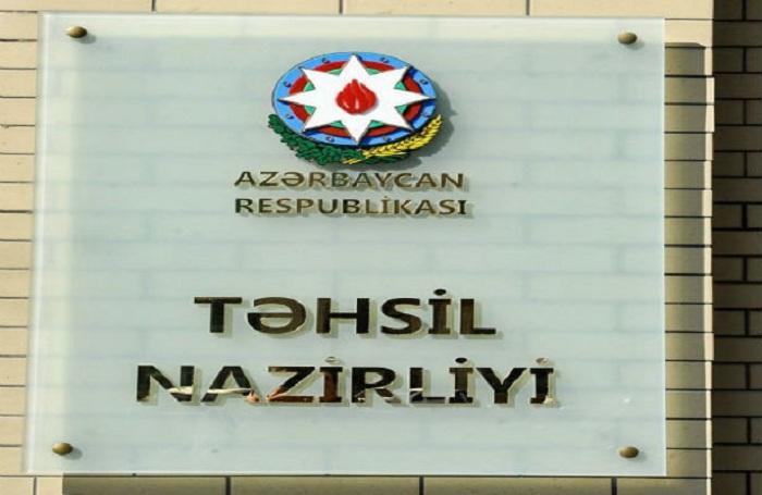 """Təhsil Nazirliyi: """"Gələcəyin müəllimi"""" təqaüdü ləğv edilməyib"""