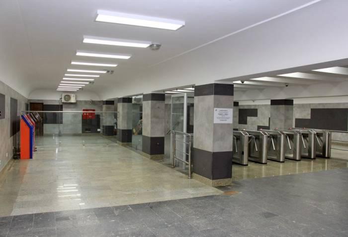 """""""Neftçilər"""" metrosunda təmir başa çatıb"""
