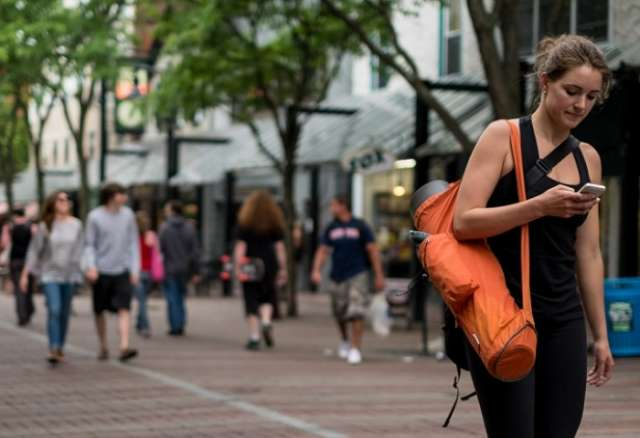 This city will fine you for texting and walking