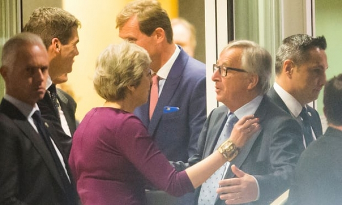 Brussels trip by PM fails to unblock stalemate as both sides harden stance