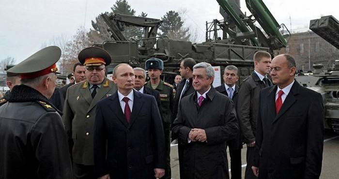 Ermənistan yenə Rusiyadan 100 milyon hərbi kredit götürür