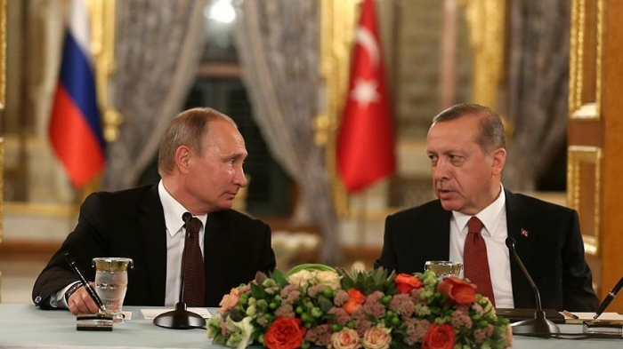 Erdogan, Putin discuss Iraq, Syria over phone