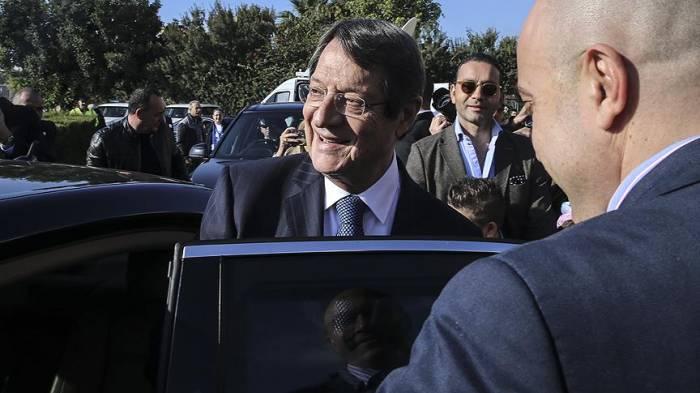 Anastasiadis yenidən prezident seçildi