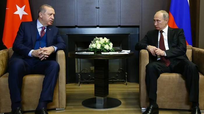 Putin Qüds məsələsində Ərdoğanı dəstəklədi