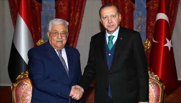 Entretiens Erdogan/Abbas à Istanbul