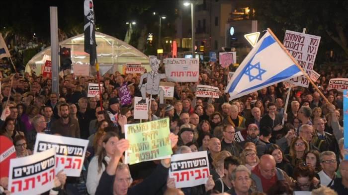 Des milliers d'Israéliens manifestent contre Netanyahu