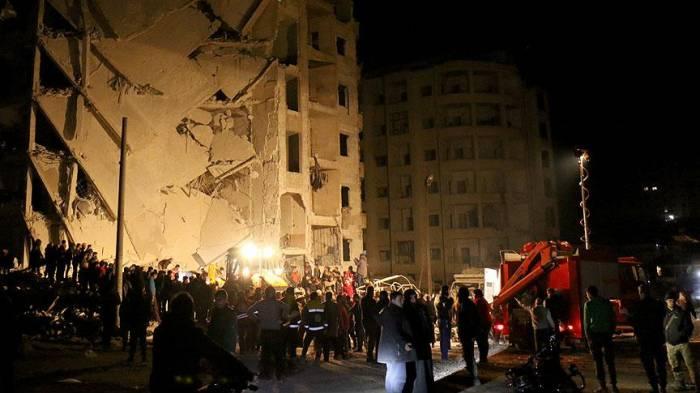 Suriyada güclü partlayış - 30 ölü, 70 yaralı