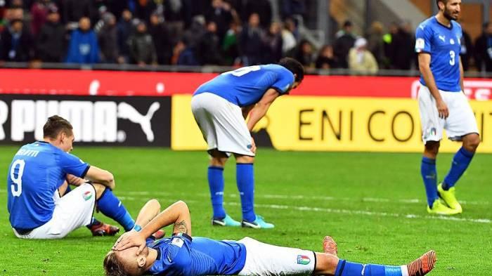 İtaliya dünya çempionatından kənarda qaldı