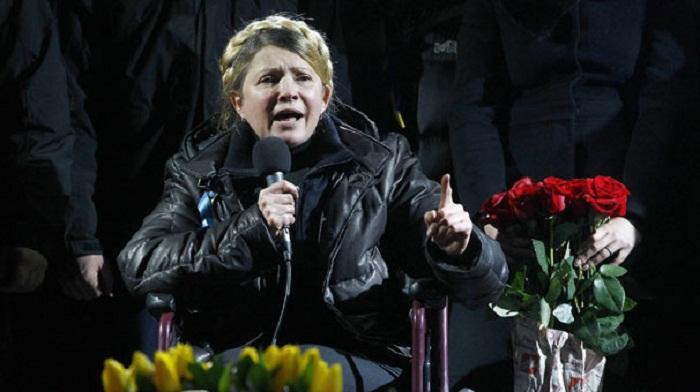 Timoşenko yeni `Maydan`a hazırlaşır
