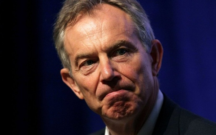 Former UK PM Blair says Britain is a mess