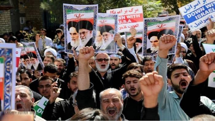İranda Trampa qarşı etiraz aksiyası keçirildi