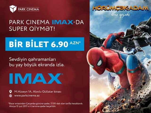Kinomanlar üçün şad xəbər – IMAX-da unudulmaz yay repertuarı