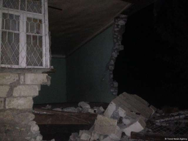 Over 130 houses damaged by quake in Azerbaijan's Aghdam district