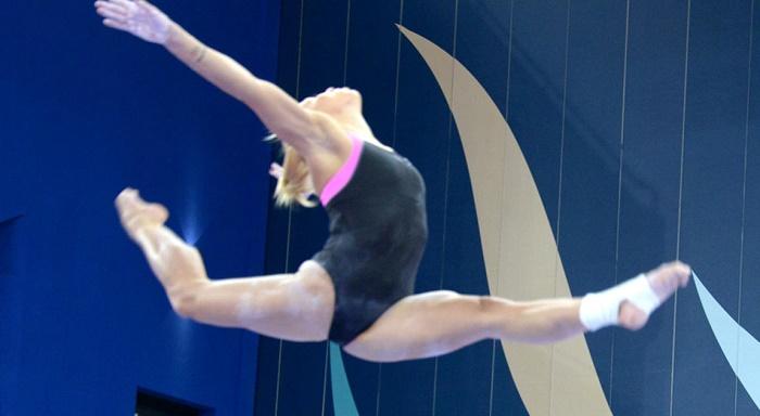 Azerbaijani gymnast wins three golds in Romania