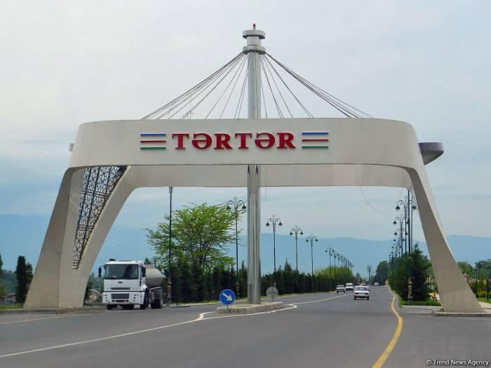 Ausländische Diplomaten in Aserbaidschan, Journalisten, Leiter internationaler Organisationen besuchen den Bezirk Tartar