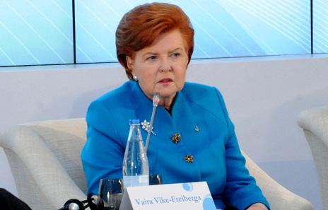 Azerbaijan plays major role in maintaining stability in region, says Vaira Vike-Freiberga