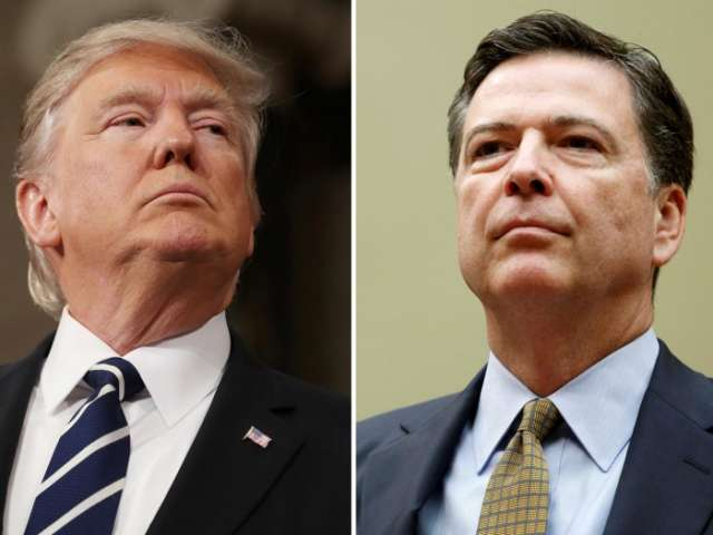 Trump labels James Comey an untruthful slime ball over tell-all book