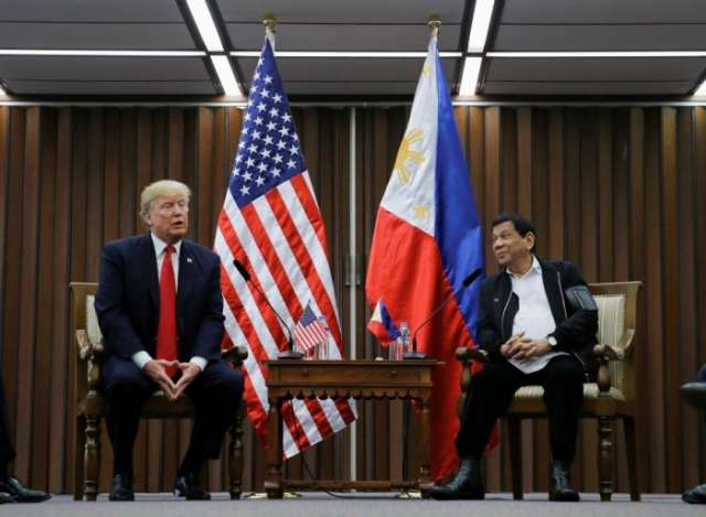 Trump briefly discussed rights with Philippines' Duterte: White House