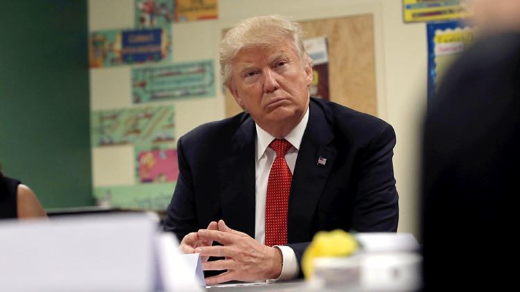 ¿Desliz freudiano? El Pentágono pide 'accidentalmente' la dimisión de Trump
