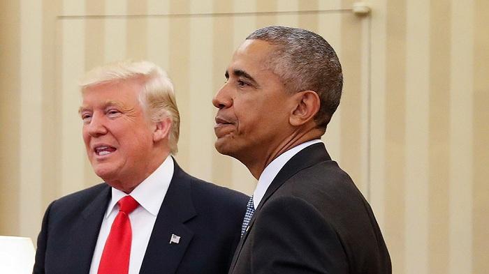 Obama Trampı çay süfrəsinə dəvət edib