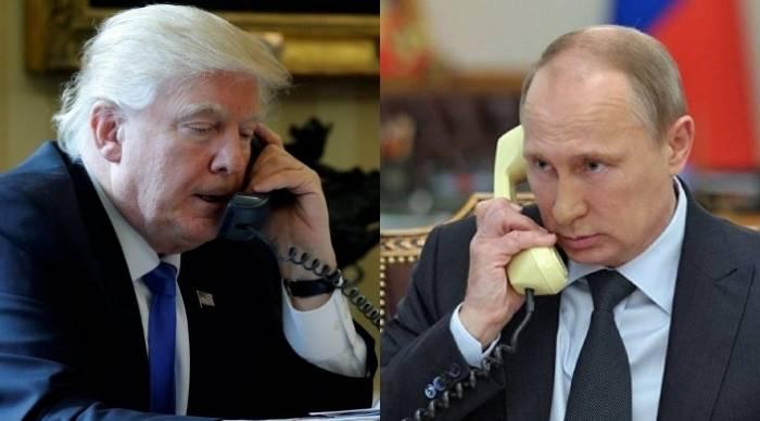Trump et Poutine discutent par téléphone de divers dossiers sensibles