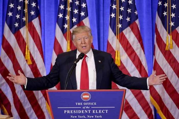 Donald Trump holds first formal presser since US Presidential Election victory - VIDEO