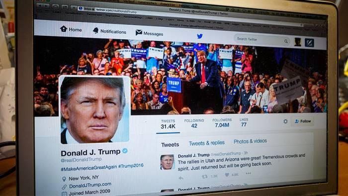 """Trampın """"Twitter"""" hesabını Bəxtiyar bağlayıbmış"""