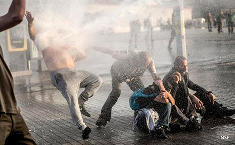 US and EU concerned by Taksim Gezi Park protester- PHOTOS