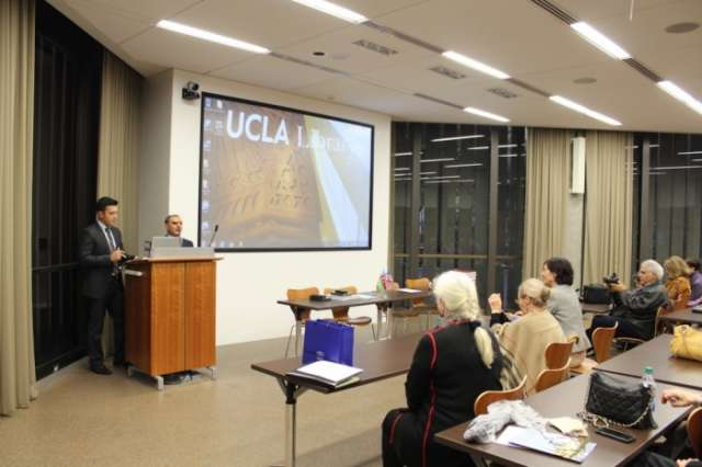 Azerbaijan National Library, UCLA Library sign MoU