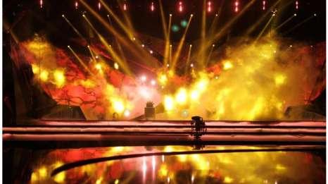 Eurovision 2013 səhnəsindən son - FOTOLAR