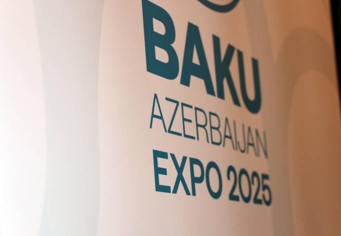 """BMT-də """"Ekspo 2025""""in Bakı layihəsi təqdim olundu - FOTOLAR"""
