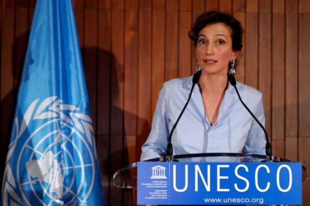 At a tumultuous moment, Unesco picks a new leader