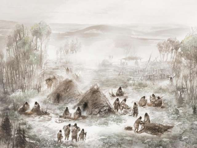 Evidence of first ever humans to colonise North America found