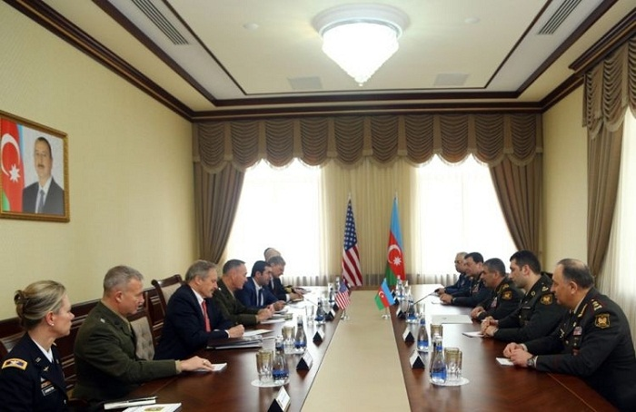Top US military officer thanks Azerbaijan for hosting meeting with his Russian counterpart