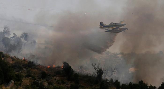 Nuevo incendio afecta a región de Valparaíso en Chile