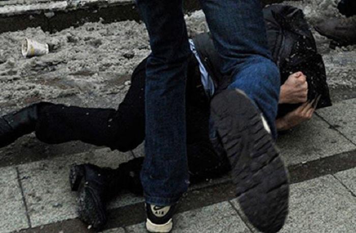 Kütləvi dava: Yaralılar var - Bakıda