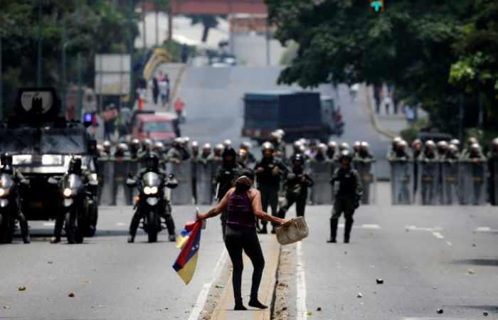 Venezuelan opposition protests again against Maduro