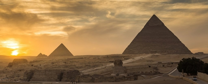Giant volcano eruption could have sparked collapse of ancient Egypt