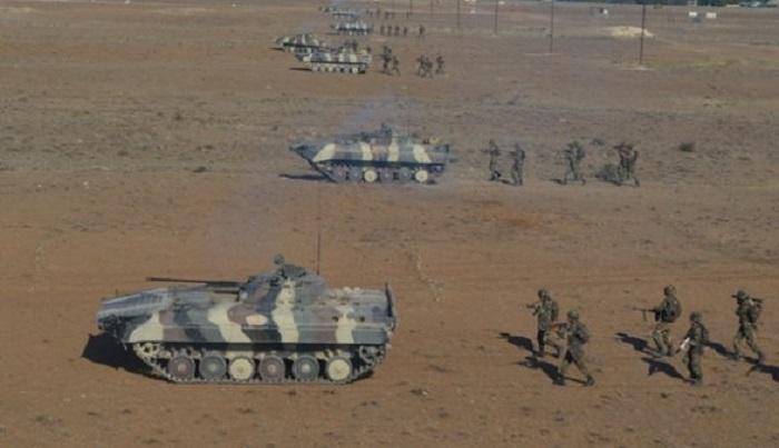 Los representantes de las Fuerzas azeríes participan en las medidas internacionales