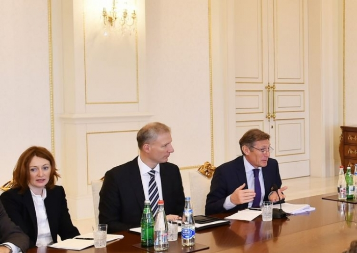 Negotiations between EU and Azerbaijan continue in a very good way - Walter Stevens
