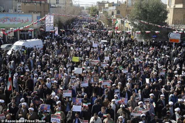 Iran: Tens of Thousands Join Pro-Government Rallies