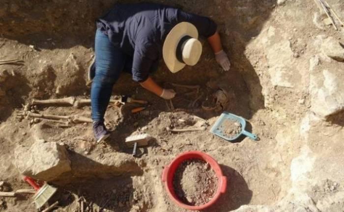 Armenier führen illegale Ausgrabungen in Khojavend durch