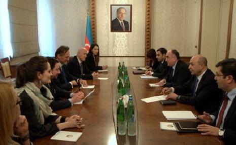 Elmar Məmmədyarov ATƏT PA-nın prezidenti ilə görüşdü