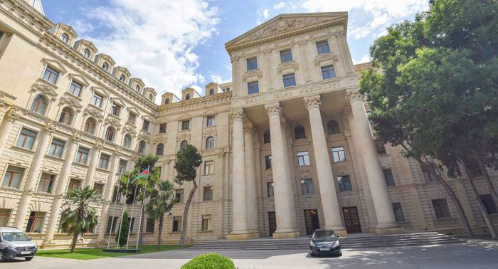 """""""Präsidentschaftswahlen"""" in besetzten aserbaidschanischen Territorien sind eine weitere Provokation - Außenministerium"""