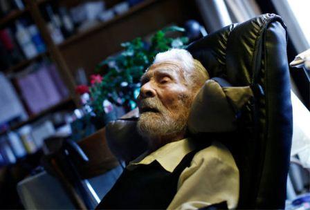 Dünyanın ən yaşlı kişisi öldü