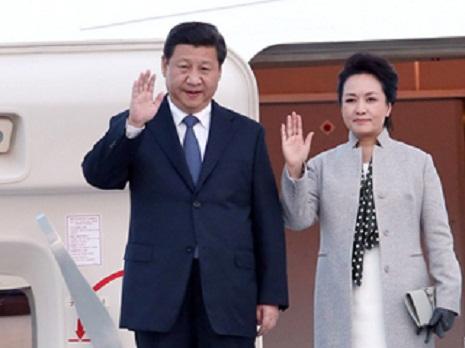 Çin prezidenti Fransaya gəldi