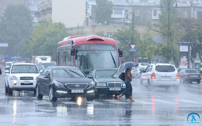 Sabahın havası: Rayonlara yağış, qar yağacaq