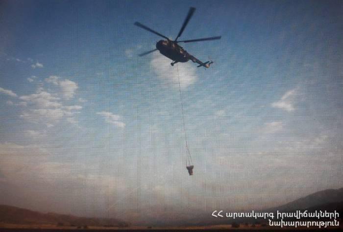 Arménie: un important incendie de forêt a déjà ravagé 230 hectares